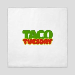 Taco Tuesday Queen Duvet