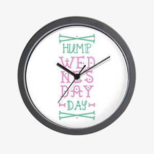 Hump Wednesday Wall Clock
