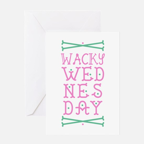 Wacky Wednesday Greeting Cards