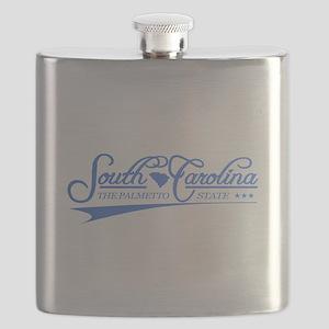 South Carolina State of Mine Flask