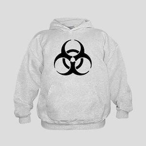 Biohazard Symbol Kids Hoodie