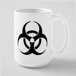 Biohazard Symbol Large Mug