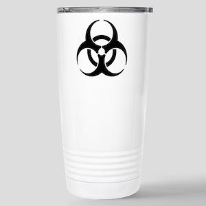 Biohazard Symbol Stainless Steel Travel Mug