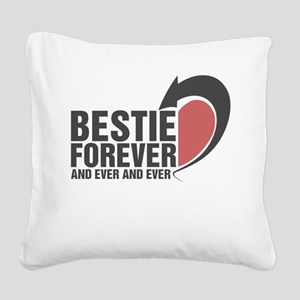 BESTIE FOREVER AND EVER AND EVER COUPLES Square Ca