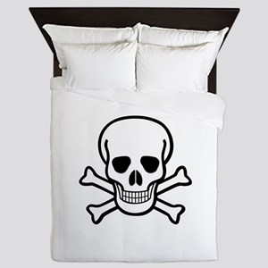 Skull and Crossbones Queen Duvet