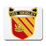 USS GRIDLEY Mousepad