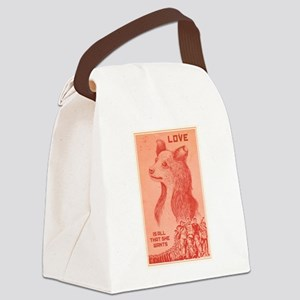 She Wants Love Canvas Lunch Bag