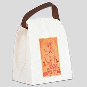 She Needs Love Canvas Lunch Bag