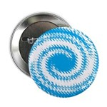 Teal and White Swirl 2.25