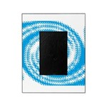 Teal and White Swirl Picture Frame