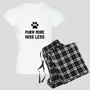 Purr More Hiss Less Pajamas