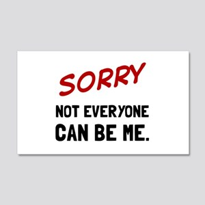 Sorry Be Me Wall Decal