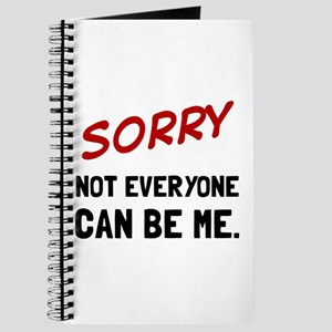 Sorry Be Me Journal