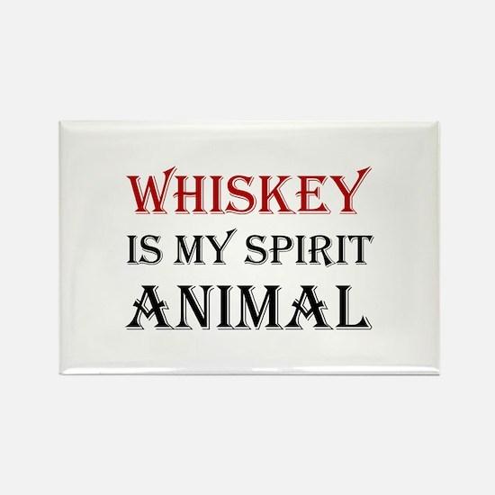 Whiskey Spirit Animal Magnets