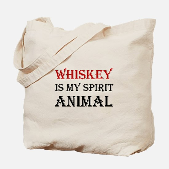 Whiskey Spirit Animal Tote Bag
