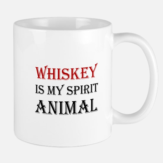 Whiskey Spirit Animal Mugs
