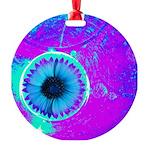 Purple Blue Ornament