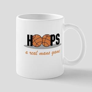 Hoops A Real Mans Game Mug