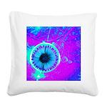 Purple Blue Square Canvas Pillow