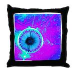 Purple Blue Throw Pillow