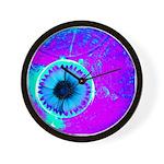 Purple Blue Wall Clock