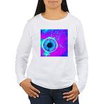 Purple Blue Long Sleeve T-Shirt
