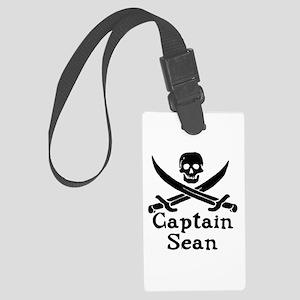 Captain Sean Luggage Tag