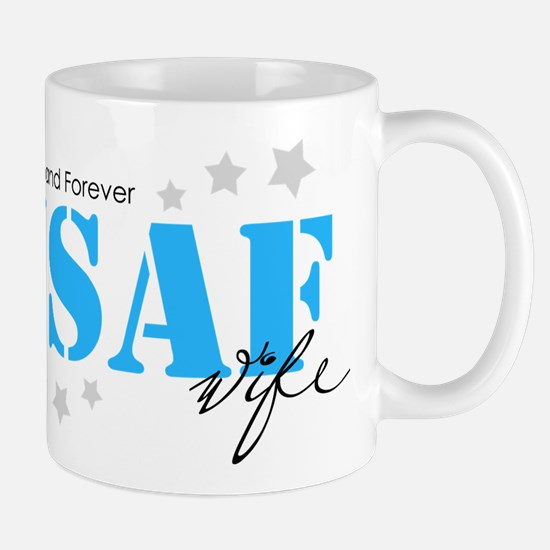 USAF Wife - Always and Forever Mugs