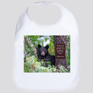 Baby Black Bear - Psalms 62-6 Bib