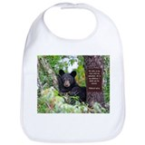 Black bear Cotton Bibs