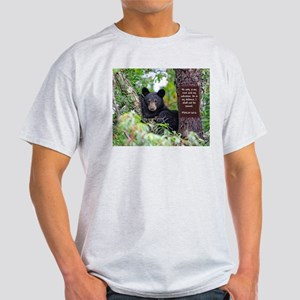 Baby Black Bear - Psalms 62-6 T-Shirt
