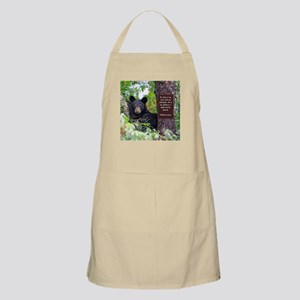 Baby Black Bear - Psalms 62-6 Apron