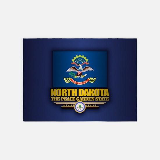North Dakota (v15) 5'x7'Area Rug