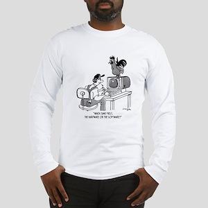 Chicken Cartoon 2372 Long Sleeve T-Shirt