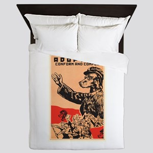 Conform And Comply Queen Duvet