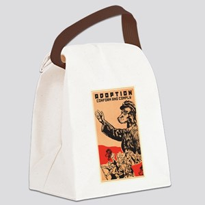 Conform And Comply Canvas Lunch Bag
