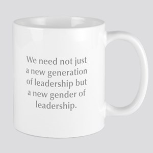 We need not just a new generation of leadership bu