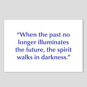 When the past no longer illuminates the future the