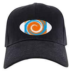 Orange Blue White Spread Baseball Hat