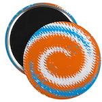 Orange Blue White Spread Magnets
