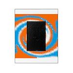 Orange Blue White Spread Picture Frame