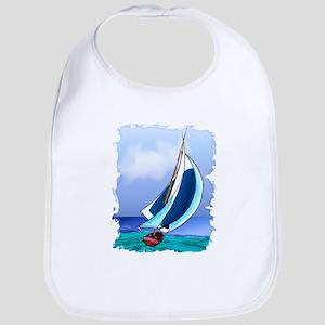 Sailing Away Bib