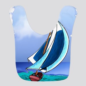 Sailing Away Bib