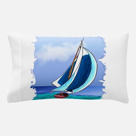 Sailing Away Pillow Case