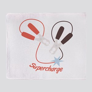 Supercharge Throw Blanket