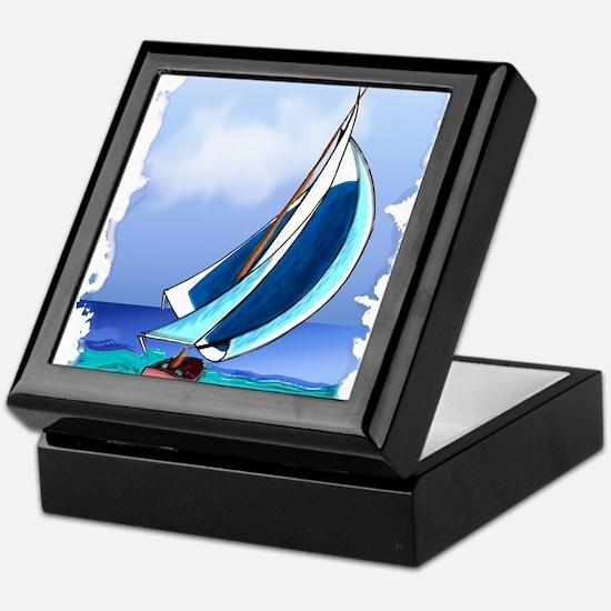 Sailing Away Keepsake Box