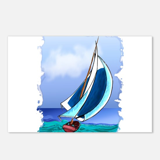 Sailing Away Postcards (Package of 8)