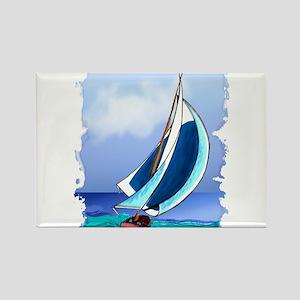 Sailing Away Magnets
