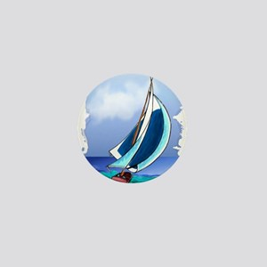 Sailing Away Mini Button