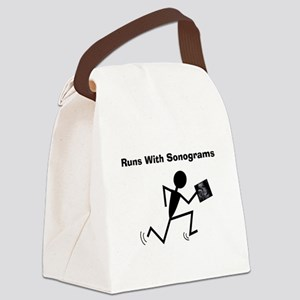 Sonographer Ultrasound Tech Canvas Lunch Bag